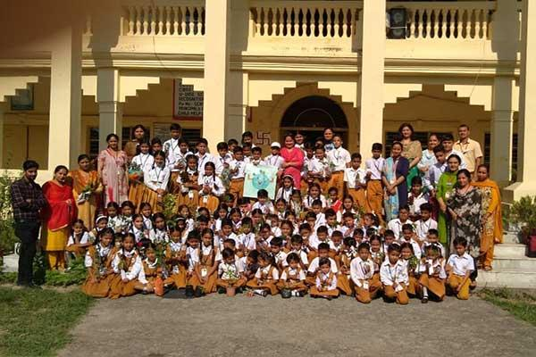 MVM School Dharamshala Students Celebrated Environment Day.