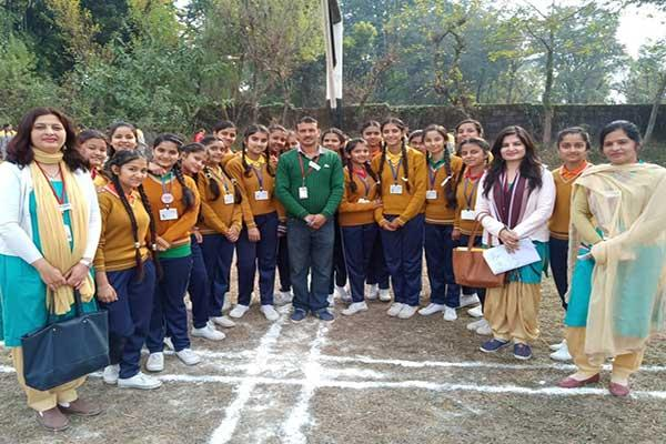 MVM School Dharamshala Students Participated in Sports competition.